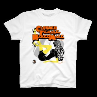 loveclonesのCFNM LOVE DOLL レモンの季節 T-shirts