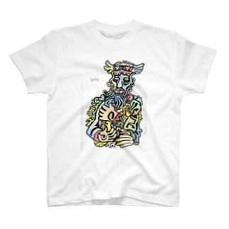 愛を抱く者。 T-shirts