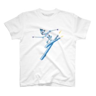 スキーロボ大滑降 T-shirts