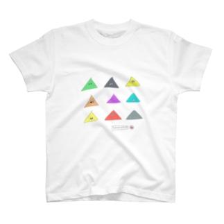 さんかくん T-shirts