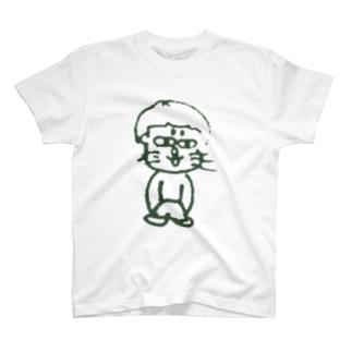 うぃ~す Goblin & White T-shirts