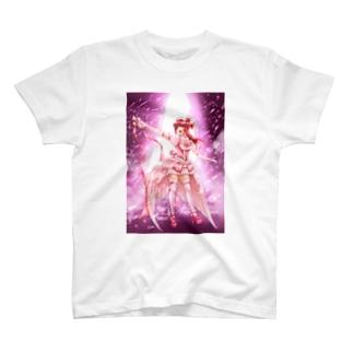 世界のアイドル宝石ちゃん T-shirts
