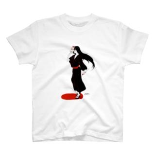 狐面タナトス T-shirts