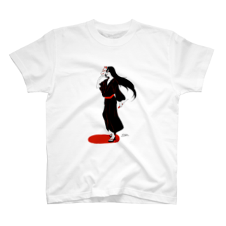 クルス†の狐面タナトス T-shirts