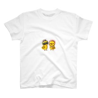 ヒヨオとヒヨコ T-shirts