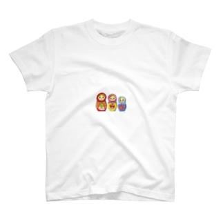 マトリョーシカちゃん T-shirts