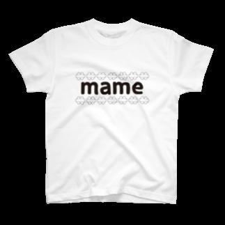 まめぶろのmame T-shirts