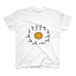 swami nekonyanda surya namaskar T-shirts