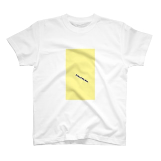 Friend Me Not. Midnight Blue & Canary T-shirts