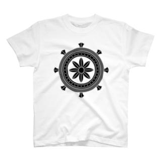 家紋 加納輪宝 T-shirts