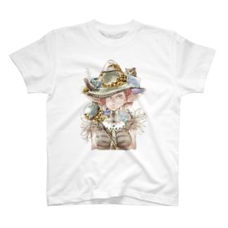 おおしまやすゆきのモリガール T-shirts