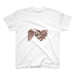 おおしまやすゆきの内緒の会図 T-shirts