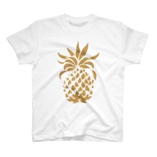 ttsoulのパイナップル-y T-shirts