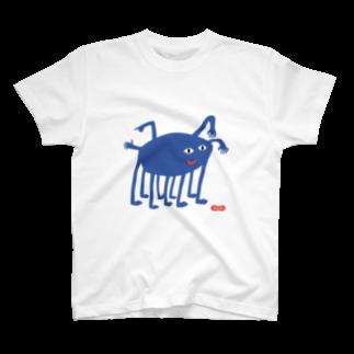 Wooofyのなぞなぞおばけのぽー T-shirts
