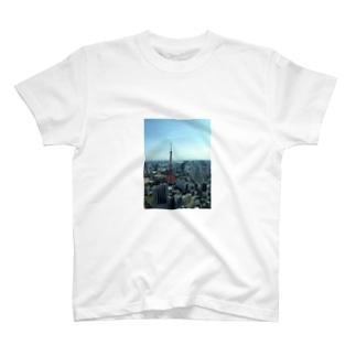 東京tower T-shirts