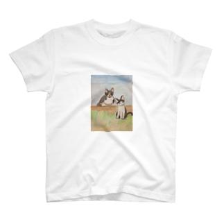 べべの花ちゃん&クラちゃん T-shirts