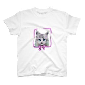 猫のmuffin T-shirts