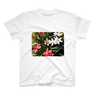 ヒメヒオウギ T-shirts