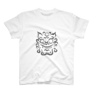 シーサー T-shirts