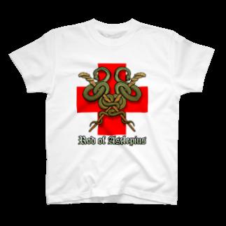 KuuMaのアスクレピオスの杖(X) T-shirts