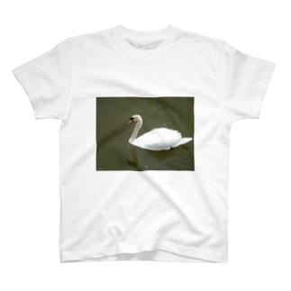 実は水かき・・・頑張ってます! T-shirts