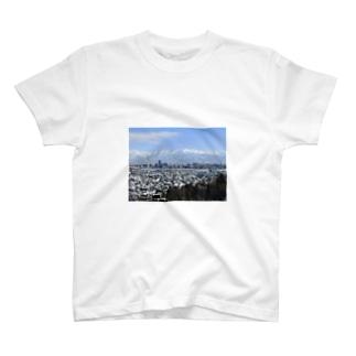 立山連峰 T-shirts