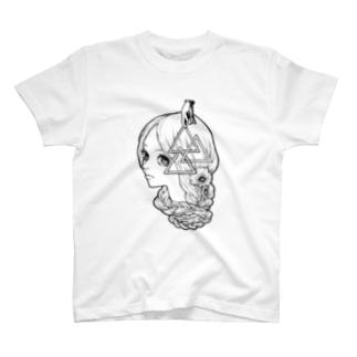 Jus Wanna Kiss-2(ボディは白がおすすめver.) T-shirts