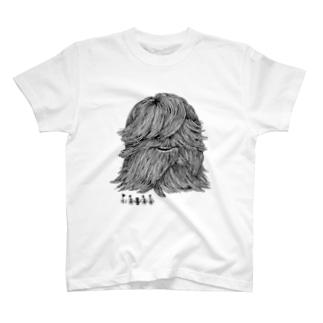 パジャマティー君に近づいてみた T-shirts