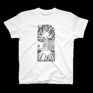 さしすせそ研究室の気になる木 T-shirts