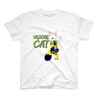 BURNOUT. CAT T-shirts