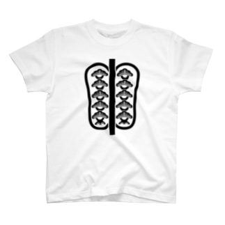 日本の家紋 中津団扇 T-shirts