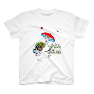 晴れのち晴れ、時々晴れ T-shirts