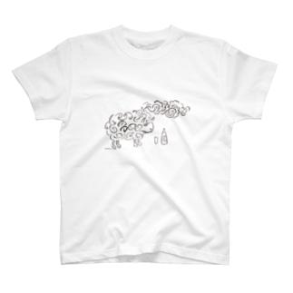 羊齧協会の羊 T-shirts