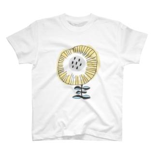 きいろのダンデライオン T-shirts