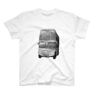 ロンドン二階建てバス T-shirts