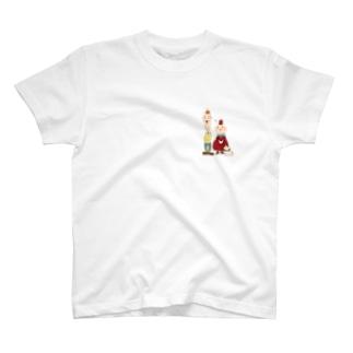 リンゴン一家 T-shirts