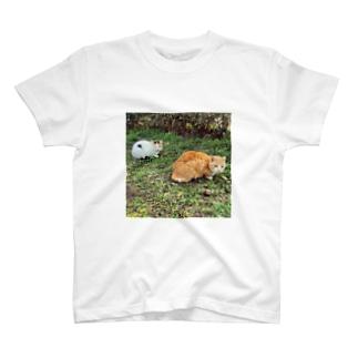 2ひきのねこまんじゅう T-shirts