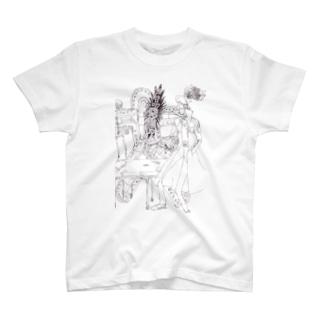 怪しい施術 T-shirts