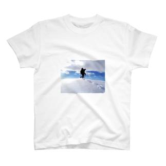 谷川の山嶺 T-shirts