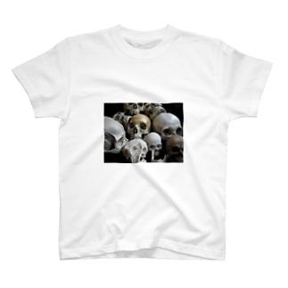 頭蓋骨2 T-shirts