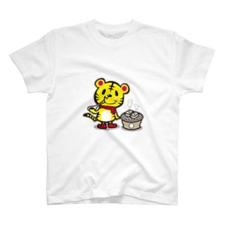 トラ×お餅 T-shirts