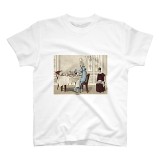1818年の食卓風景 T-shirts