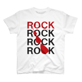 溢れだすROCK T-shirts