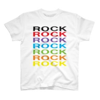 カラフルROCK T-shirts