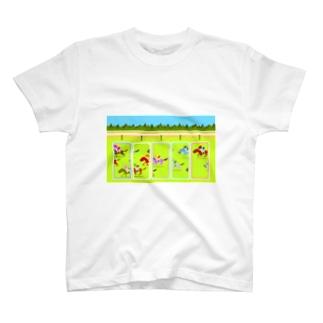 horse racing T-shirts
