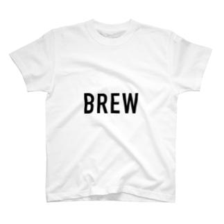BREW logo T-shirts