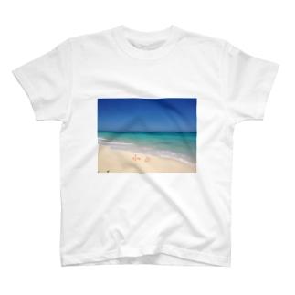 maruitukiしずかのLove U T-shirts