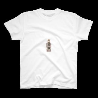GENIUSオリジナルグッズショップの西脇隼人(微笑み) T-shirts