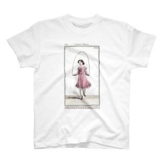 J. Jeffery Print Galleryの縄跳びガール T-shirts