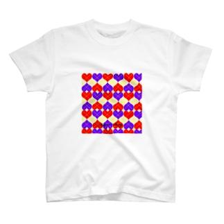 アーガイル T-shirts